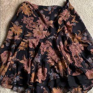 Lauren black and Brown skirt